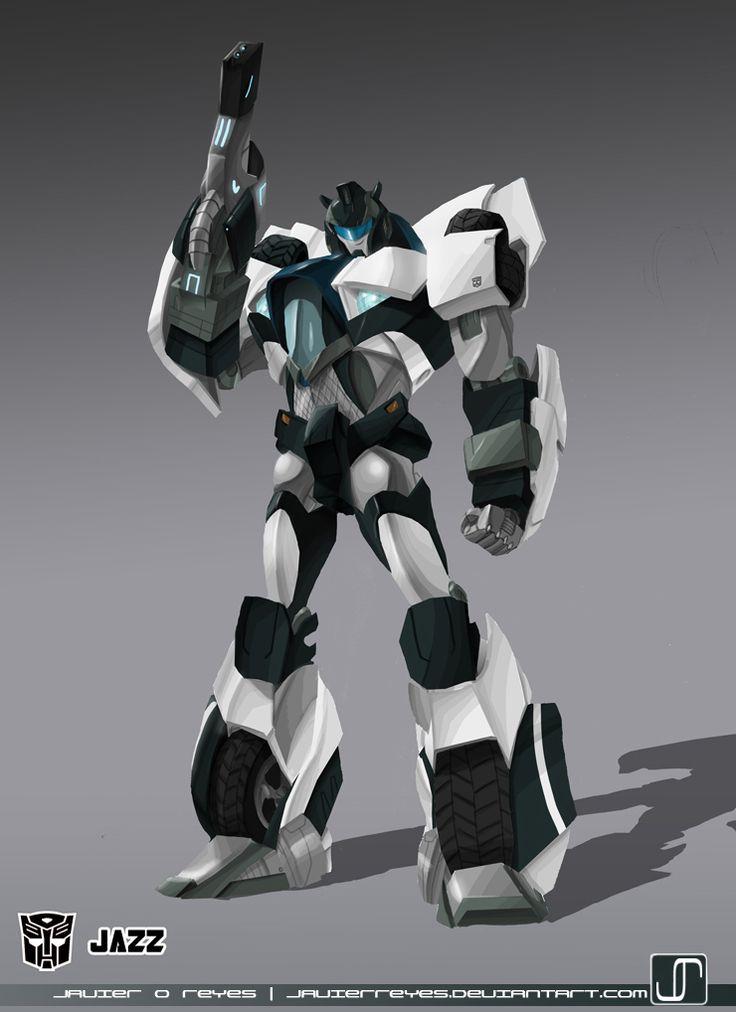 Transformers Prime Jazz I love Jazz he rocks! ;D