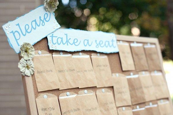 Wedding Escort Board Ideas : Ideas wedding decor inspiration for lunch card boards