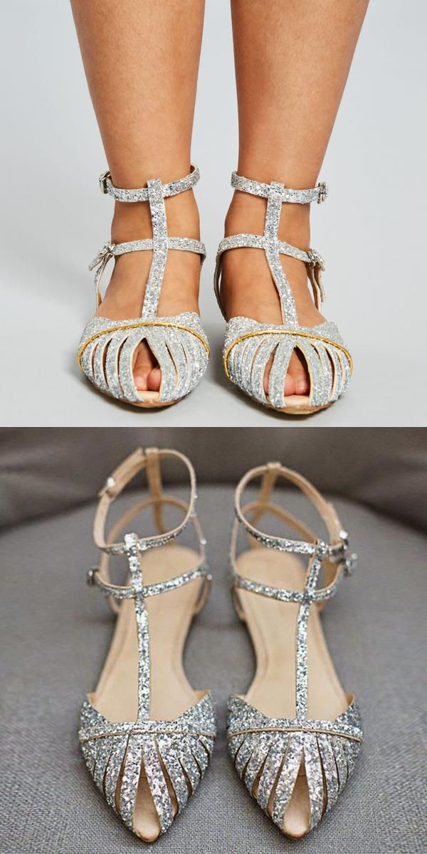 df8301591 Material: Glitter Lining Material: PU Outsole Material: Rubber Toe: Pointed  Toe Back