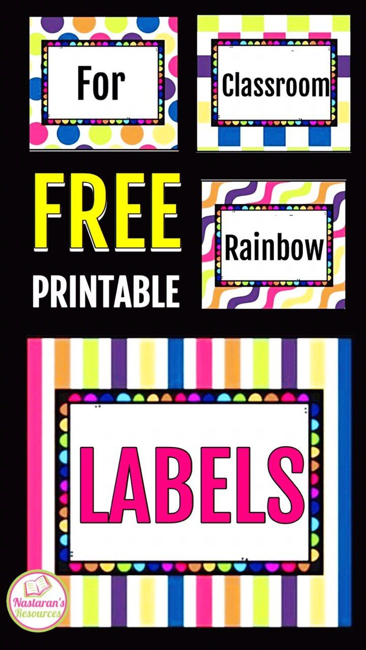 Free Printable And Editable Labels For Classroom Organization School Labels Printables Labels Printables Free Templates Classroom Labels