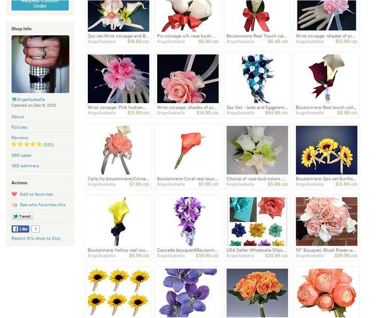 etsy: https://www.etsy.com/shop/AngelIsabella facebook page: facebook.com/angelisabellawedding instagram: https://www.instagram.com/angelisabellaflowers/ pinterest: https://www.pinterest.com/angelisabella68/ my website: http://shop.angelisabella.com