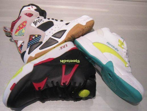 High-top sneakers by @Reebok #Reebok #sneaker #sportswear #streetstyle #FolliFollie