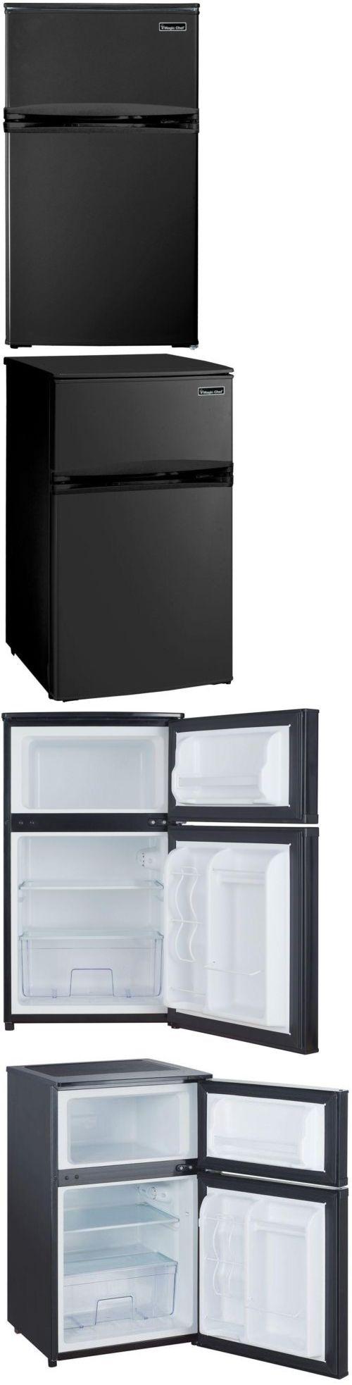Mini Fridges 71262: Black Mini Refrigerator, Freezer, 3.1 Cu Ft, Compact Fridge, Office, Home, Dorm -> BUY IT NOW ONLY: $244.73 on eBay!
