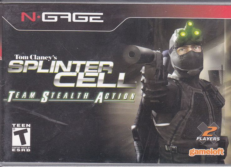 Nokia / N-Gage / Tom Clancy's Splinter Cell Team Stealth Action / 2003 Videogame #Nokia #NGage #Videogame