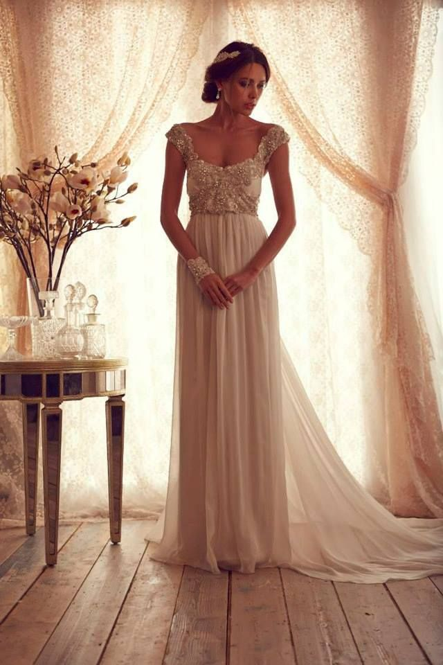 Wedding Dresses: Anna Campbell Gossamer Collection.  The romantic bride.
