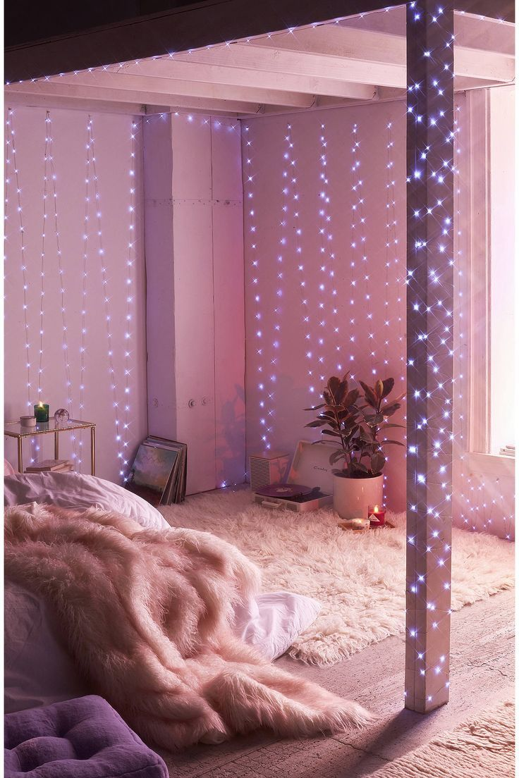Extra Long Galaxy String Lights In 2018 | The Ultimate Unique Gift Guide |  Bedroom Decor, Urban Outfitters Room, Bedroom