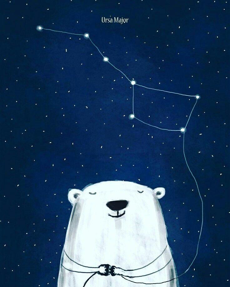 Открытка большая медведица