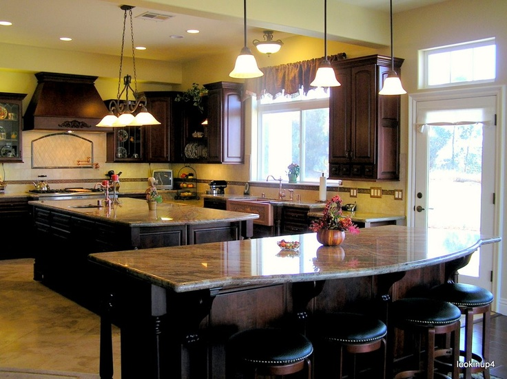 54 best double kitchen islands images on pinterest dream for Indian kitchen coral springs