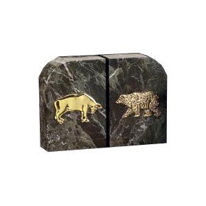 wall street office decor. Solid Marble Stock Market Bookends - Set Of Two- Two Bring Class And Charm To Your Desk Or Office Area With Wall Street Decor T