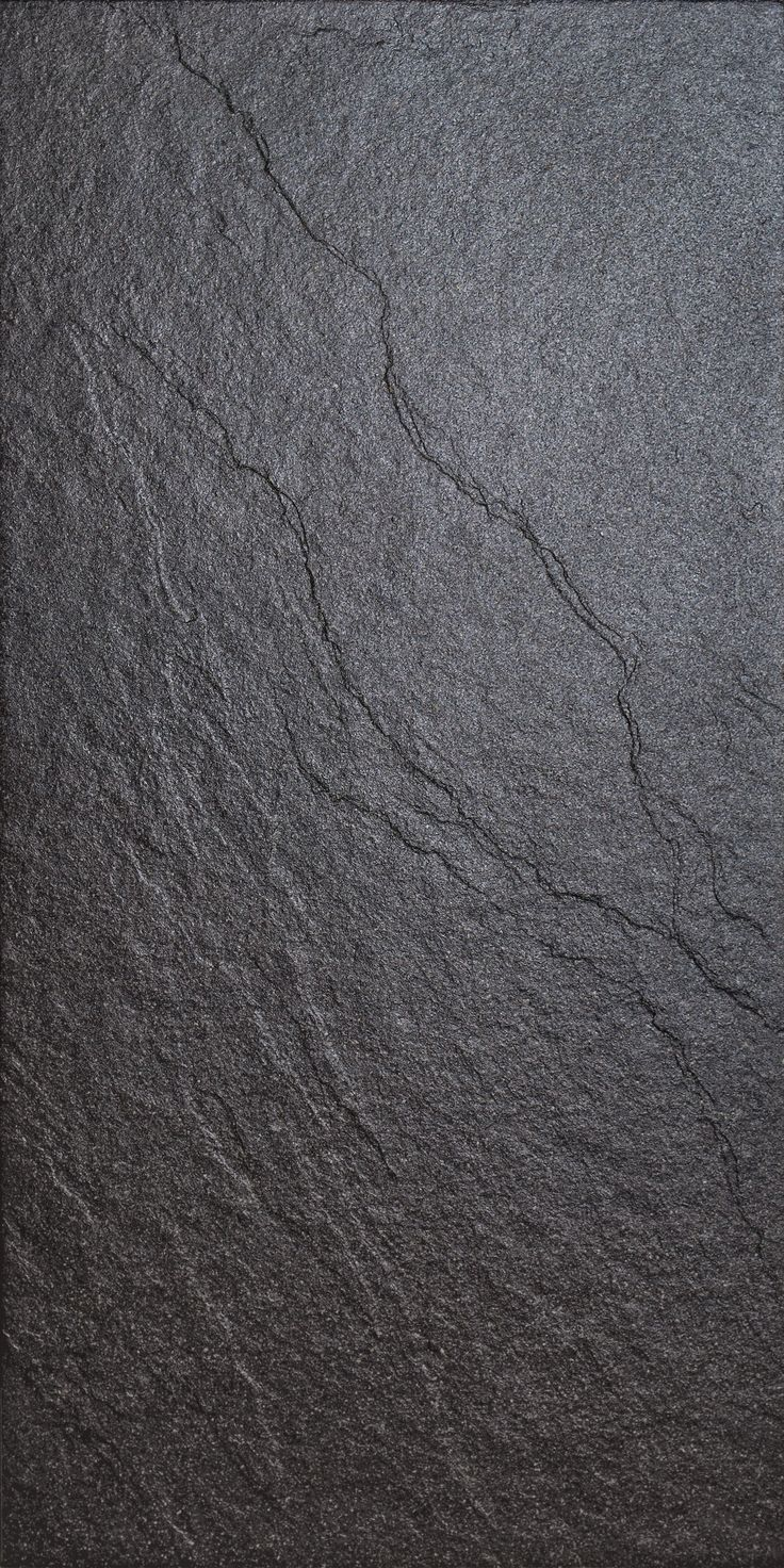 Magma Black Stone Effect Plain Porcelain Wall & Floor Tile, Pack of 6, (L)600mm (W)300mm | Departments | DIY at B&Q