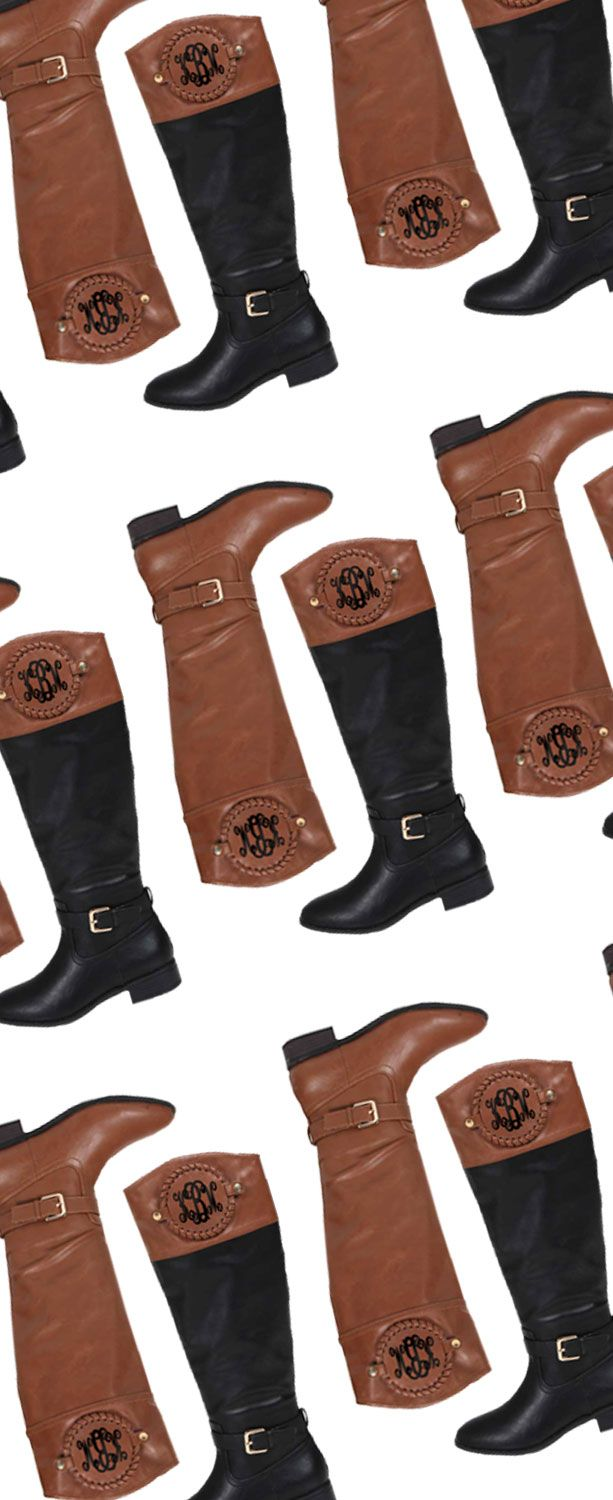 FALL PREVIEW! Y'all, we are so ready for fall at Marleylilly! Check out our Monogram Riding Boots! These were super popular last season, and we know they will trend again this year! Get your boots and extra monogrammed discs now at Marleylilly.com!