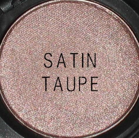 MAC Satin Taupe-one of my absolute favorite lid colors for myself. Great brown for cool toned skin