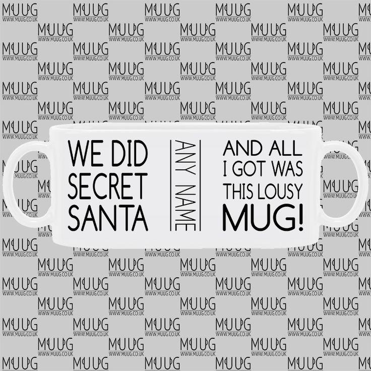 Best Secret Santa Gift - Personalised Mug