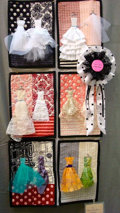 Aww this would be cute to do daughter's special occasion dresses up to her wedding!