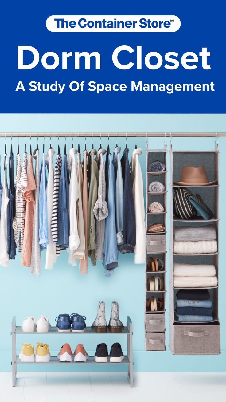 Dorm Room Closet: Wonderful Ways To Make The Most Of Your Dorm Closet Space