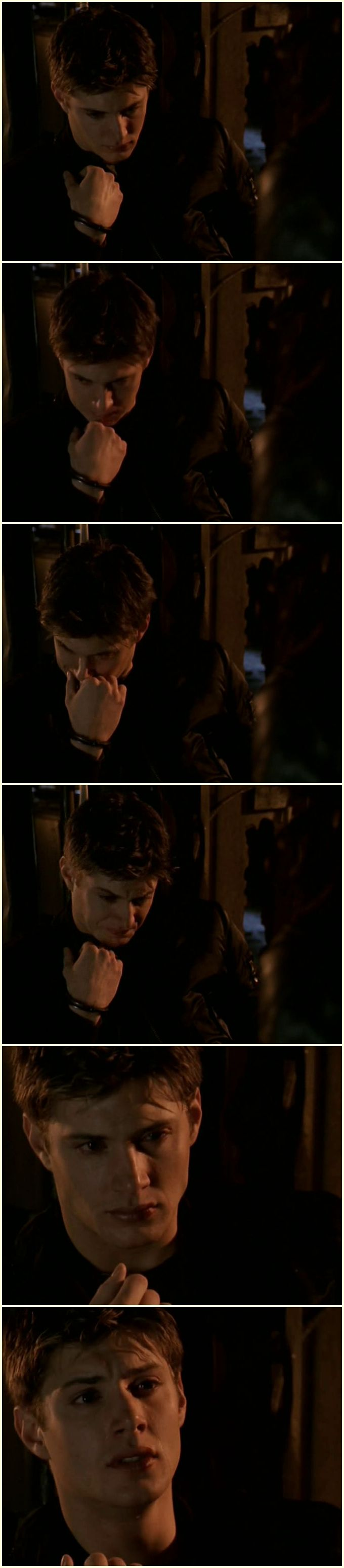 "Jensen Ackles || Ben: ""We should have never left."" Dark Angel --- Ben broke my heart in ways Alec never did, even at his most vulnerable"