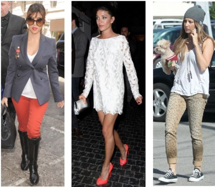 Celebrity Street Style of the Week: Kourtney Kardashian, Jessica Szohr, & Ashley Tisdale
