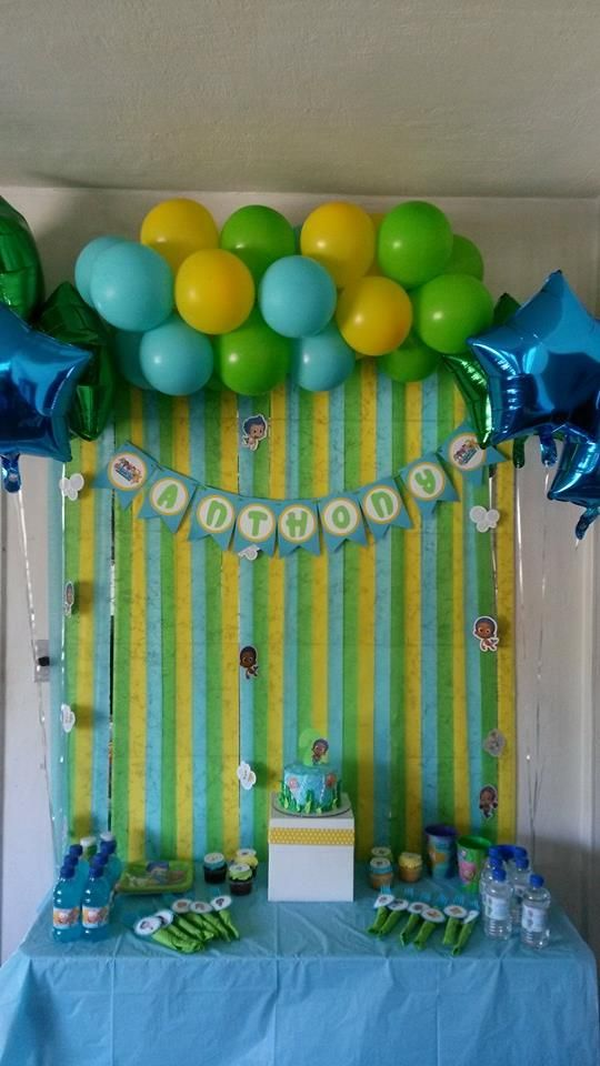 ALL DIY bubble guppies party