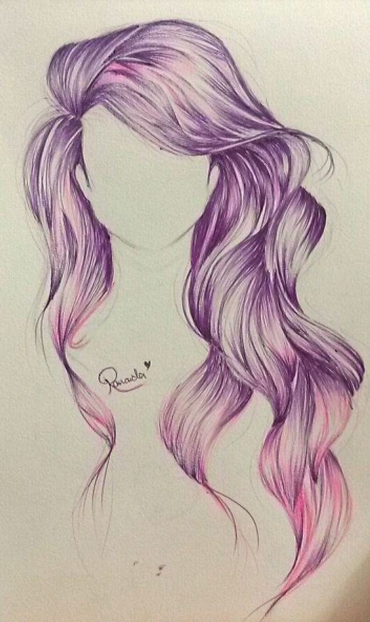 drawing hair ideas