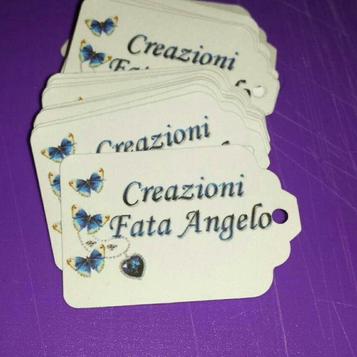 In partenza per Fata Angelo #annarellagioielli #biglietti #bigliettipersonalizzati