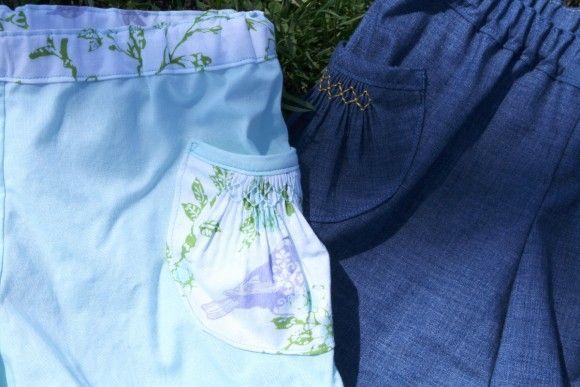 heirloom techniques: smocked pocket (via Bloglovin.com )