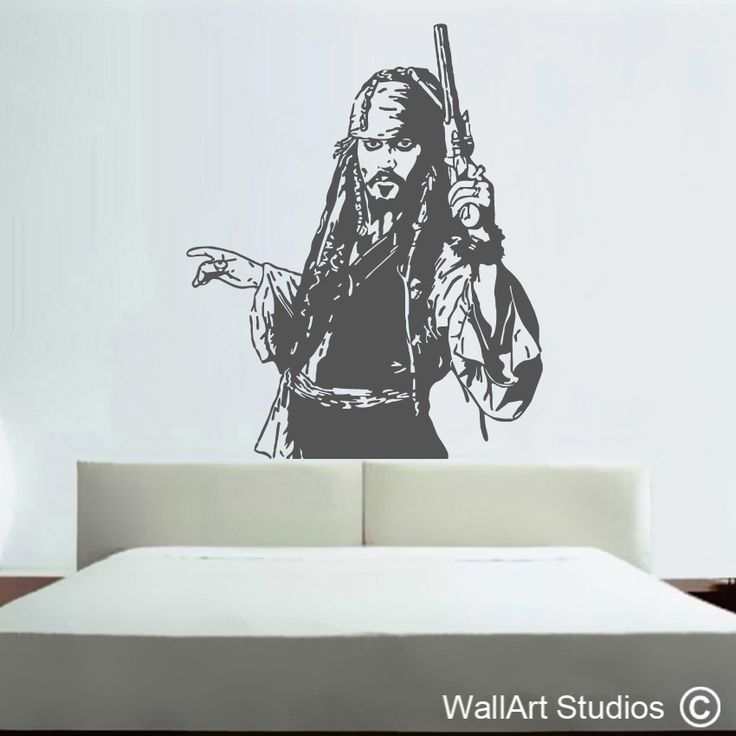 Jack Sparrow Pirates of the Caribbean Decal
