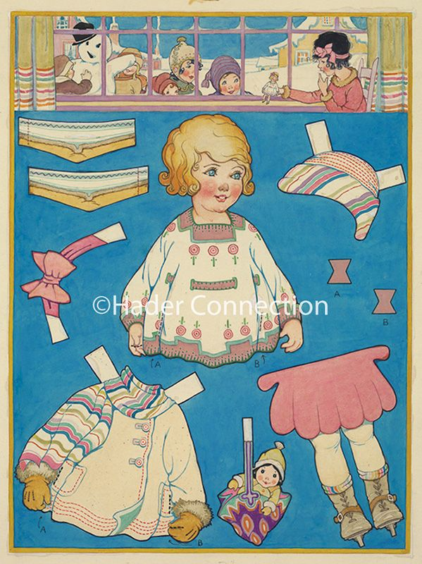 Hader paper doll_Good Housekeeping magazine, Jan. 1924