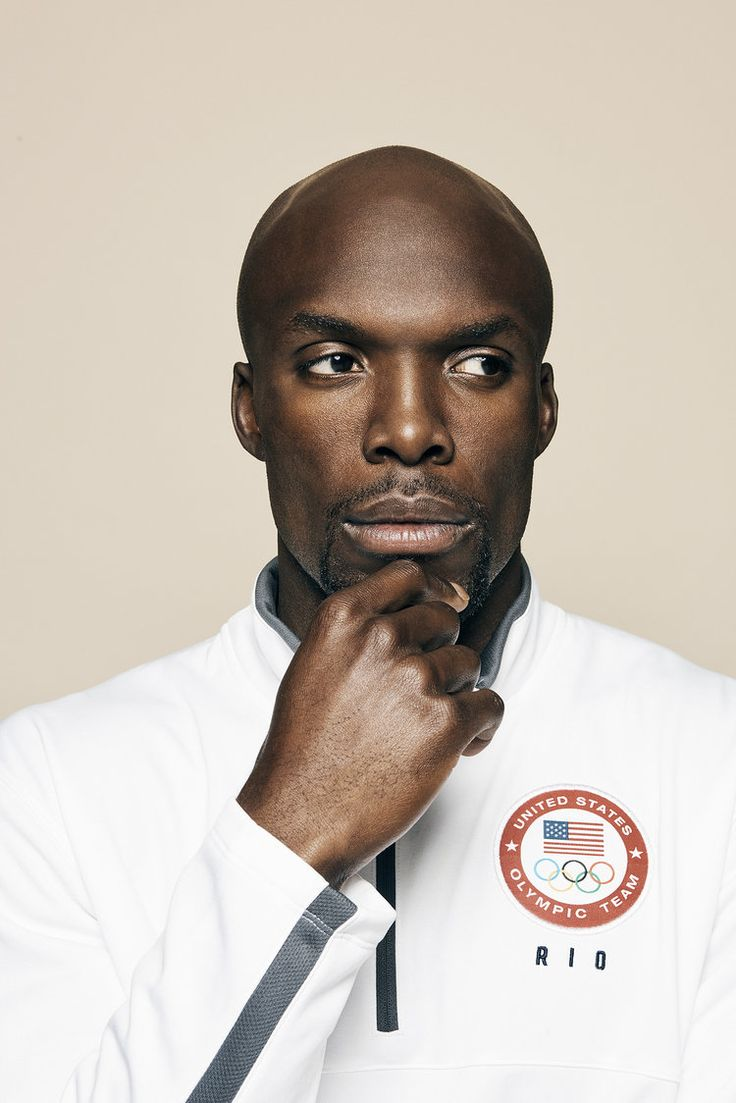 LaShawn Merritt photographed by Molly Cranna