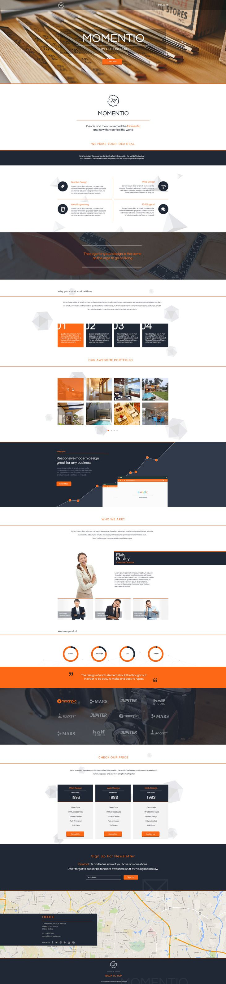 Website Templates Free 647 Best Free Psd Template Webdesign  Website Images On Pinterest