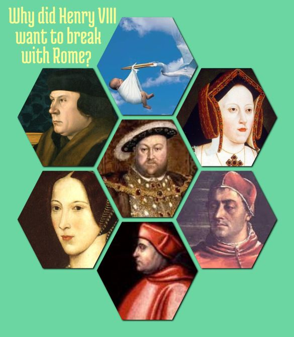 why did henry break with rome Why did henry viii break away from the catholic church 1 courtney keen 8z1why did henry viii break away from the catholicchurchhenry viii broke away from the catholic church in 1534.