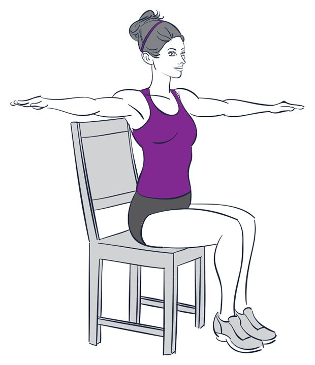 Seated Chair Exercises | Prevention