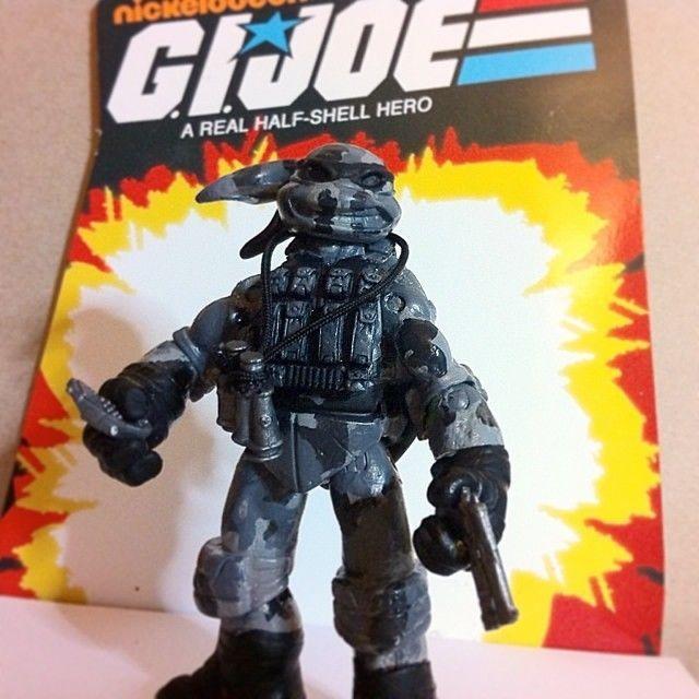 TMNT GIJOE Firefly Custom Action Figure MOC - Cobra Ninja Turtles - Mashup COA