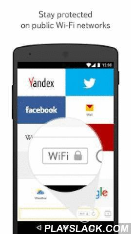 Yandex.Browser For Android  Android App - playslack.com ,  Yandex.Browser – a quick and safe browser with voice searchActive security system Protect warns you about dangerous sites, stops your personal information from being stolen when using public Wi-Fi networks, and checks downloaded files for viruses.Turbo Mode 2.0 speeds up webpages, images, and videos in your browser to make your internet experience as smooth as possible no matter what your connection speed is.Syncing data via your…