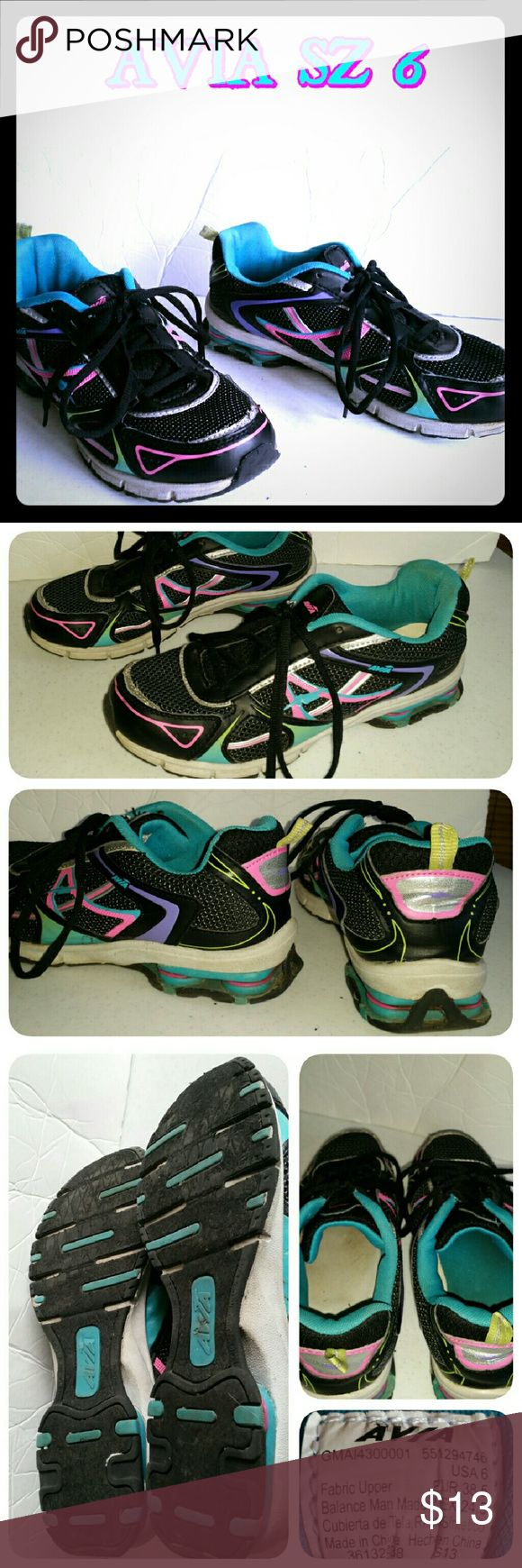 AVIA SZ 6 These say sz 6 but they fit like a 7 Very good condition avia Shoes Athletic Shoes
