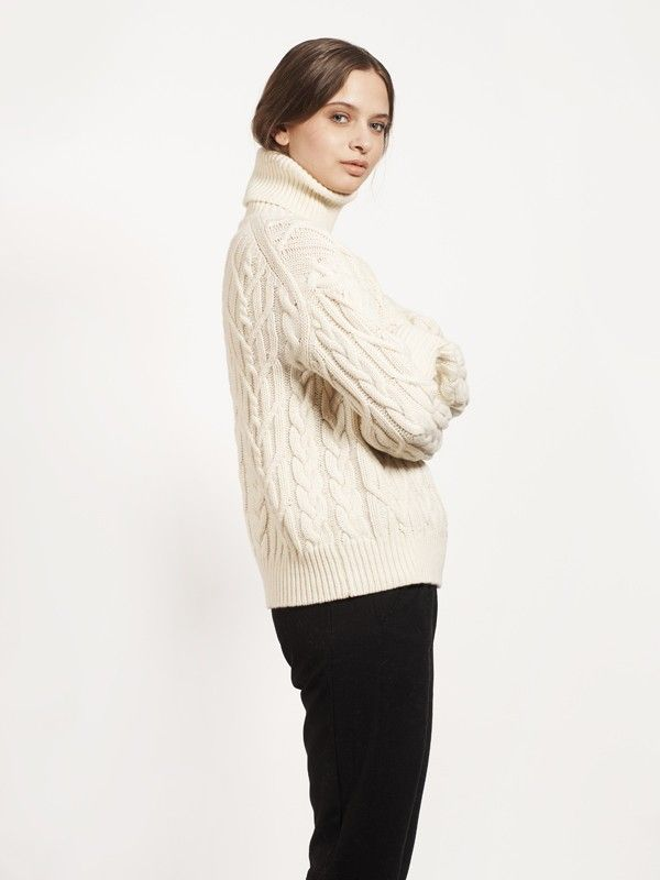 250.00 $CAN DIEM-Ivory - Sweaters - Apparel