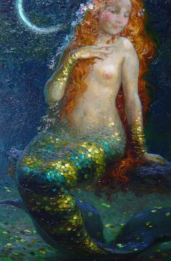 Moon by Victor Nizovtsev