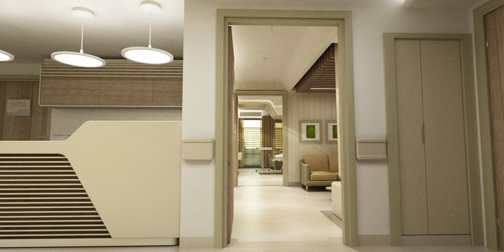 Dogan Hospital interior design