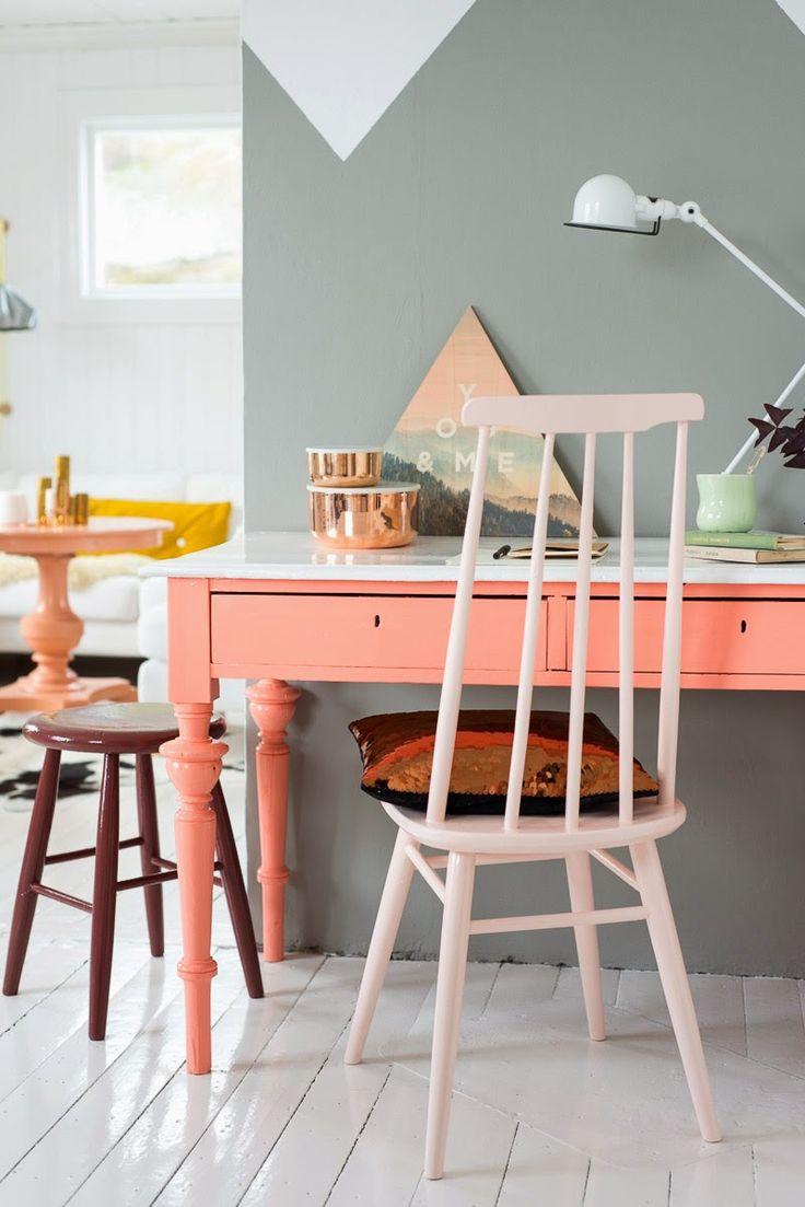 workspace  / desk / Fjeldborg for Lady Inspirasjonsblog