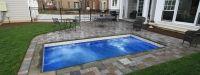 Palladium Plunge Model Pool from Leisure Pools   Signature Fiberglass Pools Chicago Swimming Pool Builder Illinois