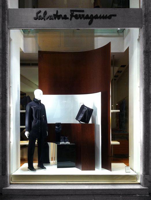 Salvatore Ferragamo AW window 2013, Roma, Lo Studio design www.lostudiodesig...