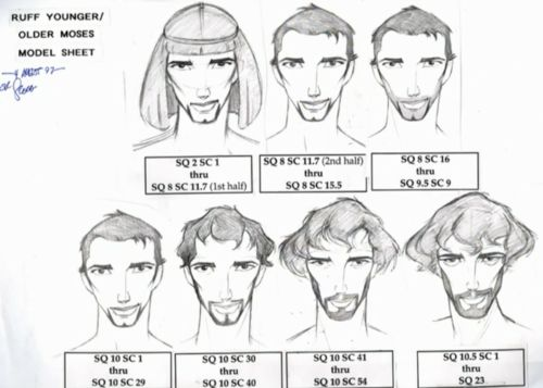 LJH // stephanieratt: Prince of Egypt concept art