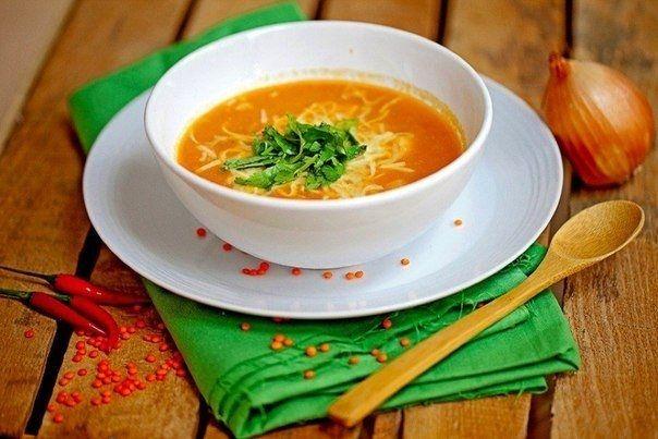 Фото к рецепту: Бразильский острый суп из чечевицы