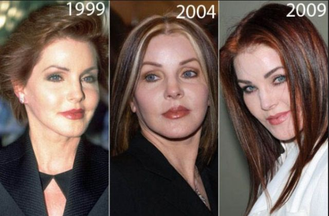 Priscilla Presley Then And Later Then And Now