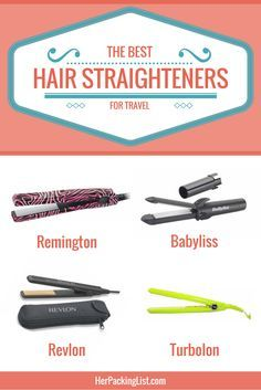 Are hair straighteners your luxury item when you travel? Research the best travel hair straighteners right here, in this post!