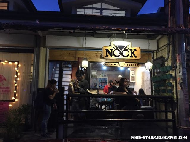Food-Stars: Potter Heads at The Nook Cafe, Maginhawa Street, Quezon City, Philippines