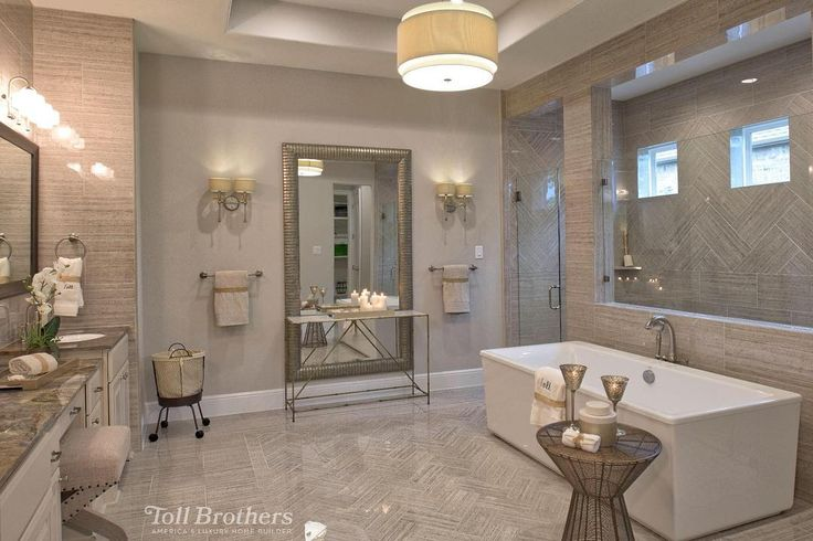 Today's #BestofToll photo, from a model home in #Texas, is a #serene, open…