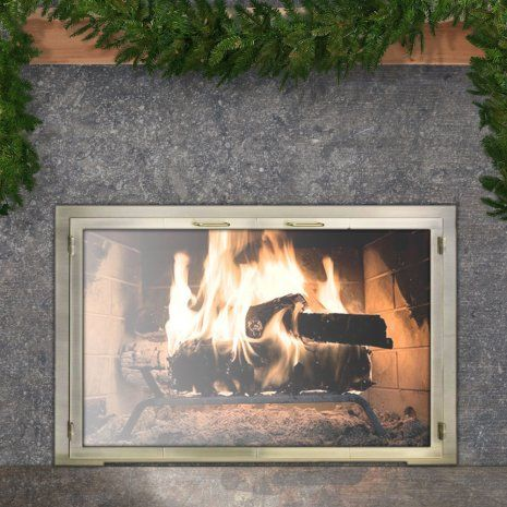 25 Best Ideas About Fireplace Doors On Pinterest