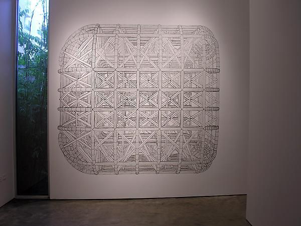 Pablo Siquier, Sicardi Gallery installation view, 2010