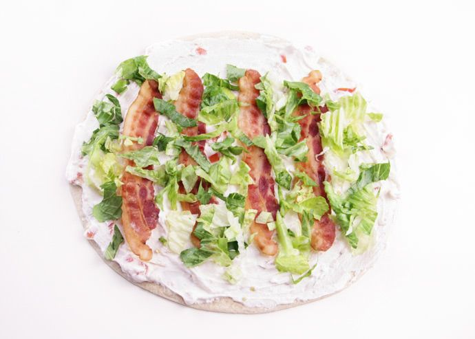 Muppets Recipe: Beaker BLT Wraps....I think this turns out cute in a creepy way. I really want the wrap though.