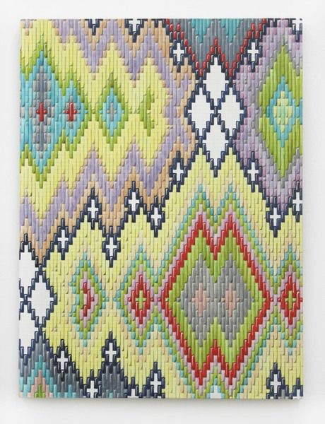 Painting By Caitlin Keogh Pitterpattern Bargello